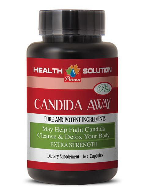 Yeast Detoxing Mass Loss by Candida Clear Detox Pills Candida Away Cleanse 2
