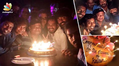 play tamil kavan sientalyric kavan movie success meet vijay sethupathi kv anand