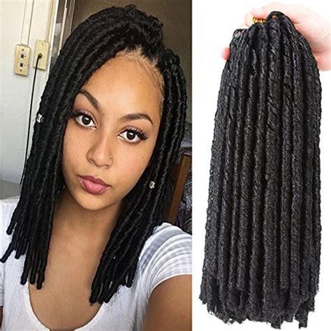 soft dread hair lengths vqueen 12 6 packs soft dreads crochet hair soft