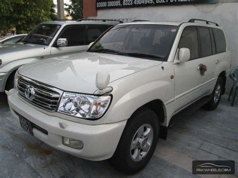 1999 Toyota Land Cruiser For Sale Used Toyota Land Cruiser V8 1999 Car For Sale In Lahore