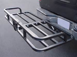 cargo carrier rack luggage basket receiver hitch mount