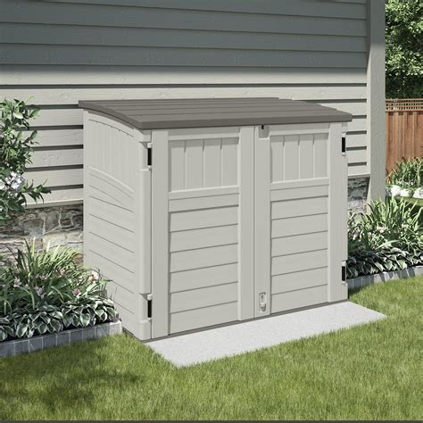 suncast utility  ft    ft  plastic tool shed reviews wayfair