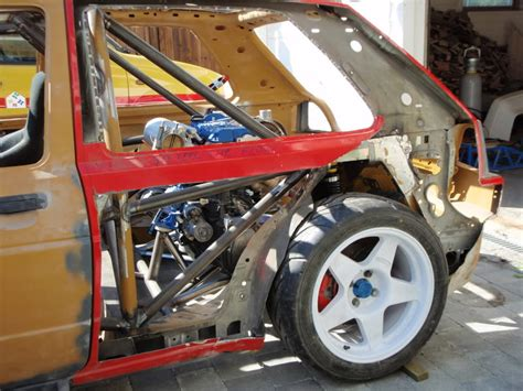 Frame Fwd Damiano 5 0 golf mk2 16vt mid engine rwd race car the user bikkjaa