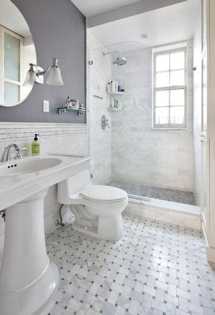 inspirational grey bathroom tile ideas for wall added inspiracje łazienka w małym białym domku