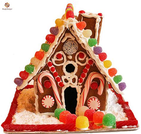 How To Make A Gingerbread House Out Of Paper - how to make a gingerbread house simplyrecipes