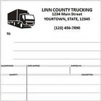 Transport Invoice Template by Custom Invoices Printing Home
