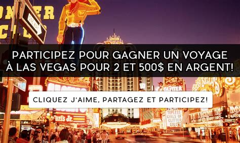How To Win Money In Las Vegas - enter to win a trip for 2 to las vegas along with 500 cash