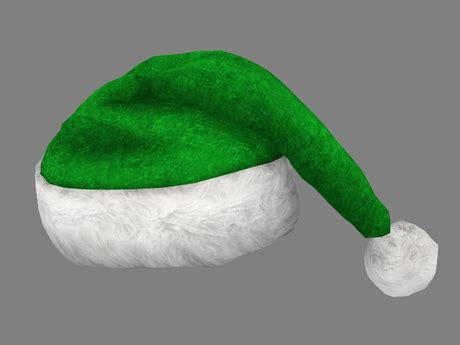 how to make a green christmas hat green santa hats tag hats