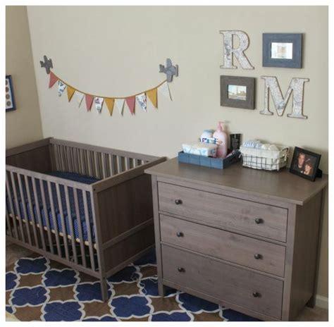 Hemnes Gray Brown Dresser by Boy S Nursery S Cozy Nook