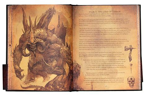 the book with pictures diablo book of cain review