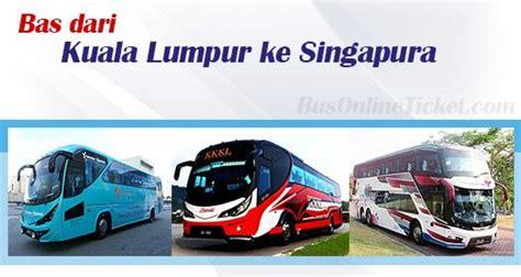 Bas dari KL ke Singapura   BusOnlineTicket.com