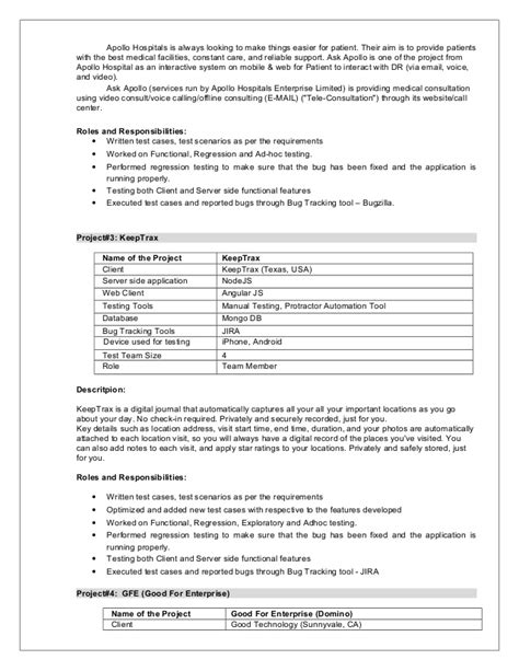 Sox It Tester Sle Resume by Salesforce Testing Resume Software Testing 28 Images 43 New Photograph Of Sle Resume Format