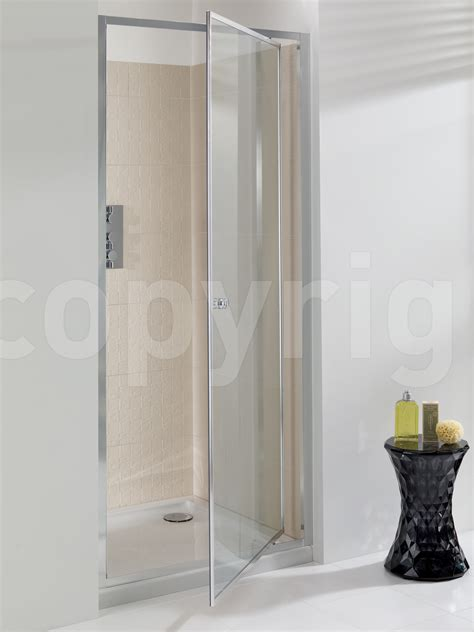 pivot door shower enclosure simpsons edge 760mm pivot shower door