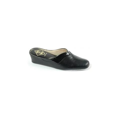 mule leather slippers relax 08 slipper l womens two tone leather mule l
