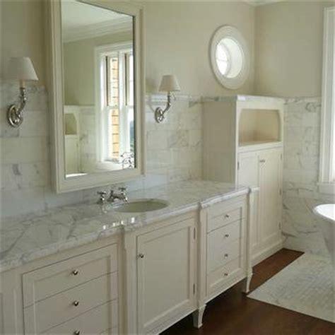 cream bathroom paint cream marble counters transitional bathroom benjamin