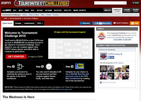 espn ncaa challenge top 10 march madness 2015 brackets and apps brand