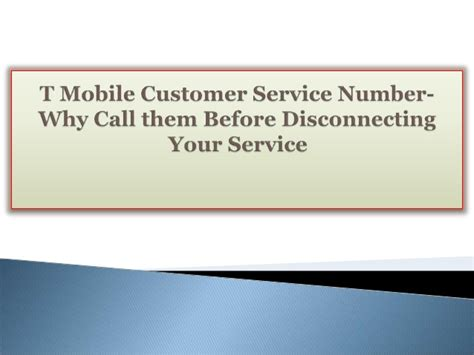 t mobile customer service t mobile customer service number why call them before