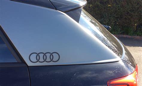 Audi Emblem Aufkleber by Audi Sticker Emblem For Blades Audi Q2 Forums