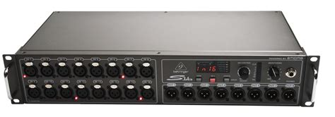Beringer X32 Rack by Behringer S16 Sound Light Rental Event Media Studio