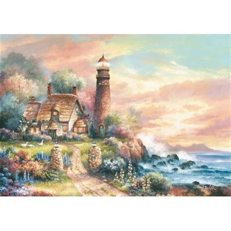 Jigsaw Puzzle Sunset On Llight 1000 puzzle evening light educa 15803 1000 pieces jigsaw puzzles cottages and chalets jigsaw puzzle