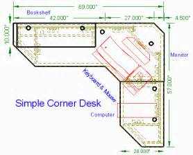 Corner Computer Desk Plans Free How To Build Built In Corner Desk Plans Pdf Woodworking