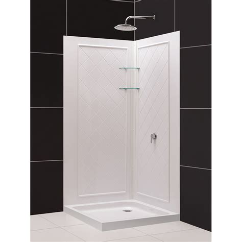 shower kit with bathtub shower kits shower backwalls tray combos tub to shower