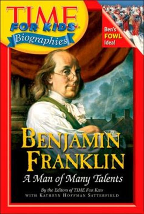 Benjamin Franklin Biography Kid Friendly | benjamin franklin time for kids biographies series by
