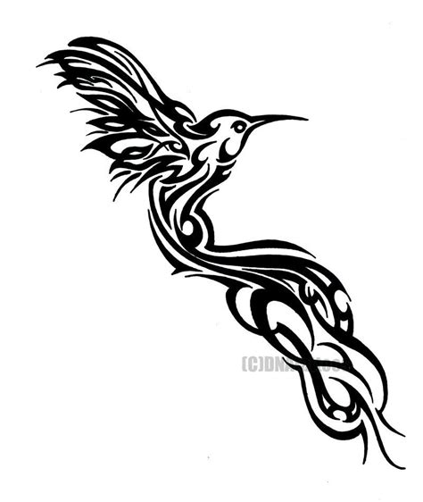 hummingbird tribal tattoo designs hummingbird tribal by weedenstein deviantart on