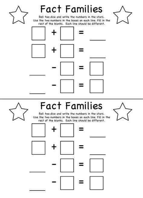 printable fraction dice dice addition worksheet blank 7 best images of blank
