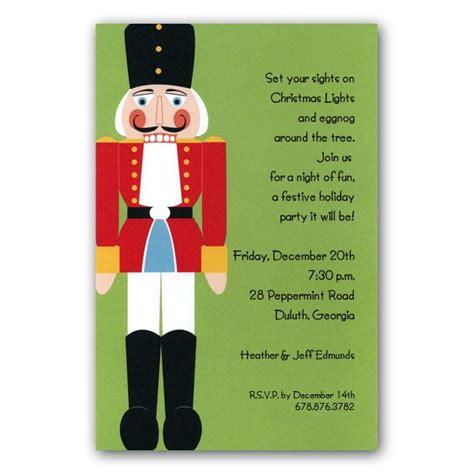 printable nutcracker invitations nutcracker christmas invitations clearance paperstyle