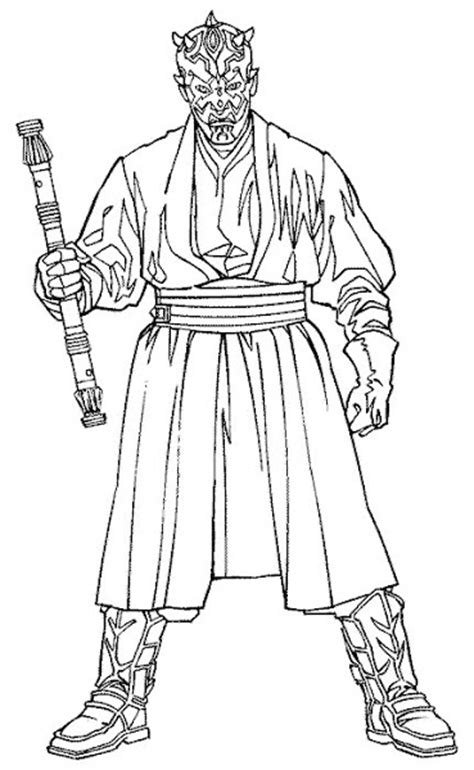 star wars darth maul coloring page action man coloring pages coloring download