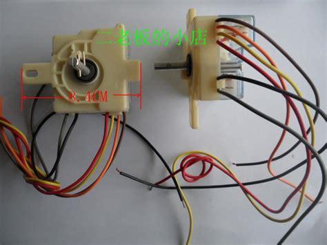 16 wiring diagram semi automatic washing machine