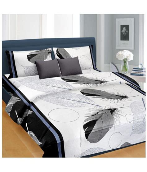 nice bed sheets nice cotton cotton double bedsheet with 2 pillow covers