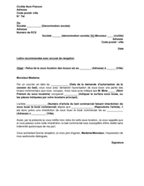 Exemple De Lettre Demande De Reclassement Exemple Gratuit De Lettre R 233 Ponse D 233 Favorable 224 Demande Sous Location Local Commercial