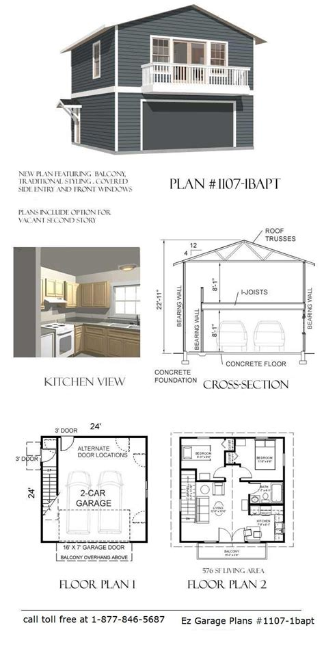 Garage Apartment Plans by Best 25 Garage With Apartment Ideas On Garage