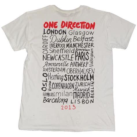 Tshirt Kaos One Direction t shirt one direction merchandise