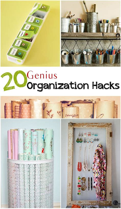 20 organizing life hacks diy craft projects 1000 images about your best diy projects on pinterest