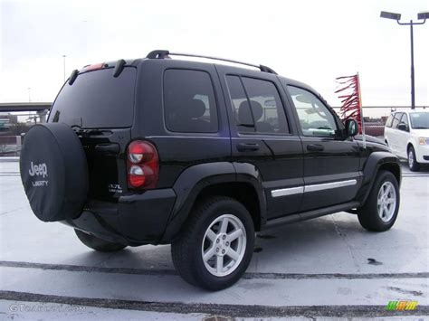 jeep liberty limited 2007 black clearcoat jeep liberty limited 4x4 25415204
