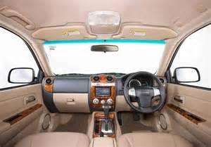 Isuzu Mu 7 Interior Isuzu Mu 7 Manual Automatic Price In India Specs Mileage