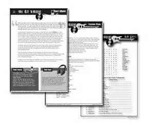 printable music lesson plans history of rock and roll teaching the history of rock and roll resources for