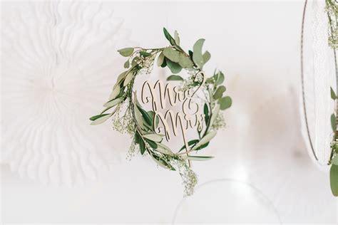 Hochzeitsstrauß Selber Binden by Diy Gr 252 Ne Kr 228 Nze Mit Spitze Selber Binden Fr 228 Ulein K