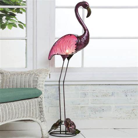 pink flamingo home decor new handpainted glass indoor outdoor pink flamingo floor