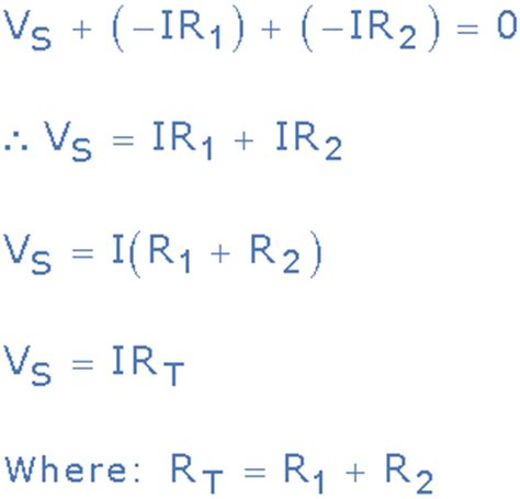 resistors kirchhoff s exle 1 part 1 kirchhoff s voltage and the conservation of energy