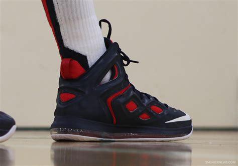 anthony davis basketball shoes anthony davis nike hyperposite quot usa quot pe
