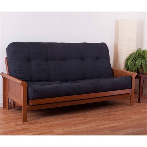 Blazing Needles Futon by Blazing Needles Tranquil Rest 9 Quot Microsuede Innerspring