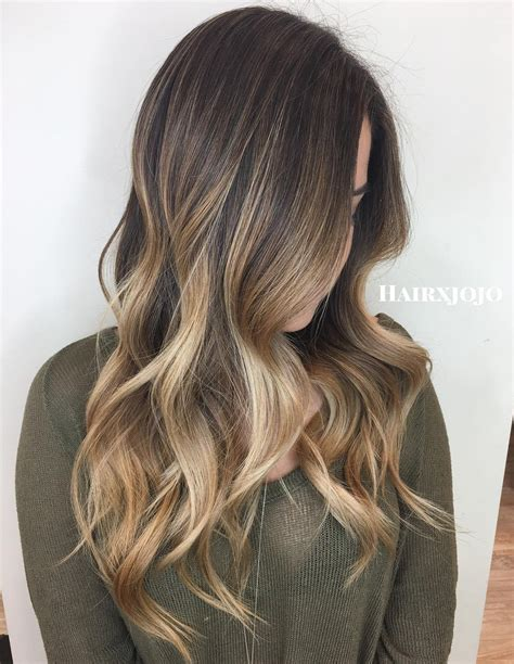 balayage light brown hair 45 ideas for light brown hair with highlights and