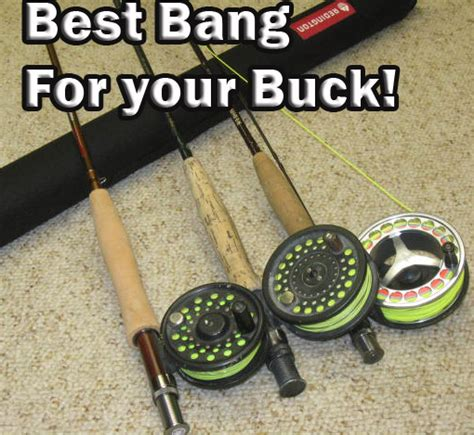 buck glass fish the best fly rods for your money for your buck