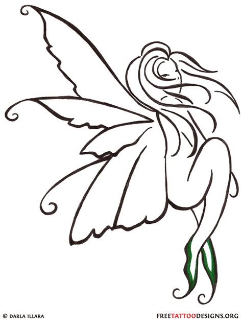 small fairy tattoo designs tattoos evil small designs and
