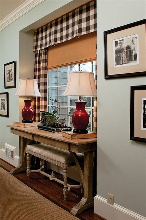 recessed window curtains desk idea for small spaces desk ideas pinterest