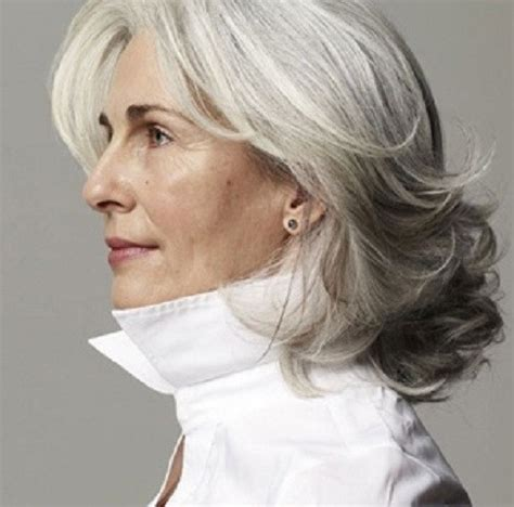 hair sules for thick gray hair 50 gorgeous hairstyles for gray hair